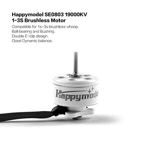 Wikiwand Happymodel SE0803 19000KV Brushless Motor CW for Mobula7 RC Drone FPV Racing by Wikiwand (Image #3)