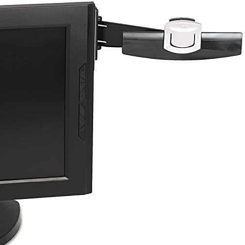 3M DH240MB Monitor Mount Document Clip, 6-1/4-Inch x3-Inch, Black/Silver (Monitor Mount Adhesive)