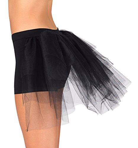 Child Shorts With Attached Bustle ,N8595CBLKM,Black,Medium