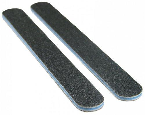 Cheap Standard Black 80/80 (Blu Ctr) Washable Nail File 50 Pack