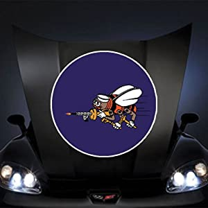 "US Navy SEABEES WWII 20"" Huge Decal Sticker by Boom Savings"