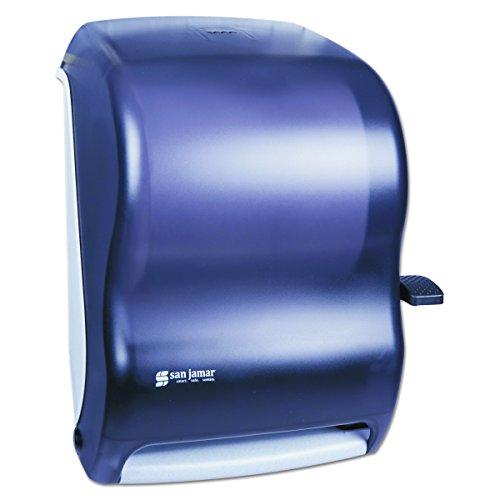 Lever Roll Towel Dispenser, Classic, Black Pearl, 12 15/16 x 9 1/4 x 16 1/2 - San Jamar T1100TBK