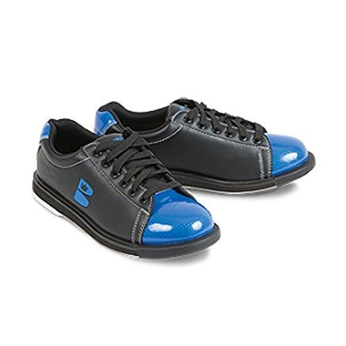 Brunswick TZone - Zapatos de bolos para hombre Negro/Azul