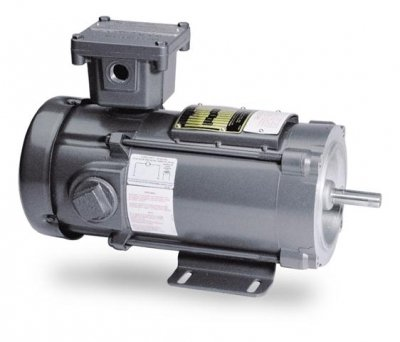 Baldor Electric, CDPX3430.5HP, 1750RPM, 90V, 56C Frame, C-Face Flange, Foot Mount, TEFC, Explosion Proof ()