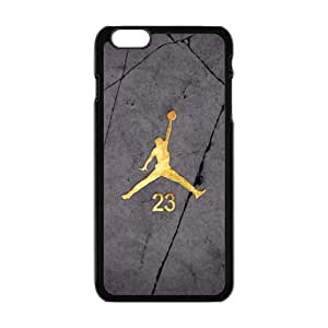 "The logo of Jordan for Apple iPhone 6 Plus 5.5""Black Case Hardcore-4 hjbrhga1544"