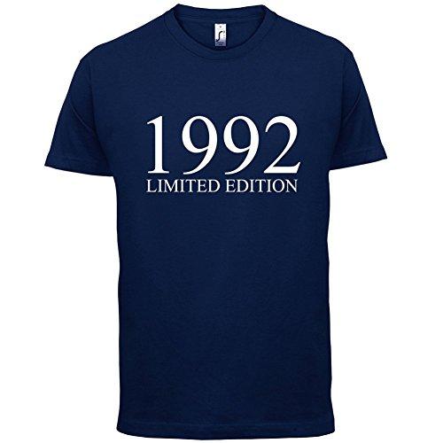 1992 Limierte Auflage / Limited Edition - 25. Geburtstag - Herren T-Shirt - Navy - L