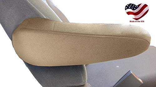 Car Console Covers Plus Fits KIA Sedona 2000-2015 Pair of Large Neoprene Armrest Covers for Fold Down Armrests Made in USA