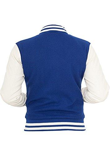 Urban Classics Ladies Oldschool College Jacket azul - azul