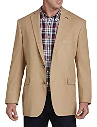 by DXL Big and Tall Flannel Jacket Relaxer Sport Coat