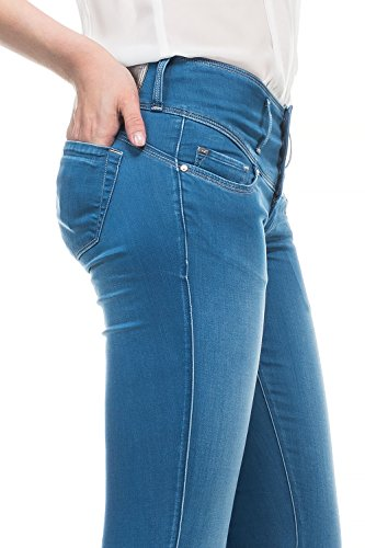 Salsa - Jeans Mystery en denim Soft Touch avec jambe skinny - Femme