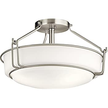 Amazon.com: Quoizel SLR1720AN Sailor Nautical Semi Flush