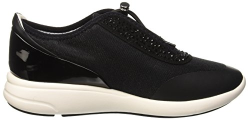 Noir black Basses Femme D Sneakers Ophira E black Geox nxqYOwS0q