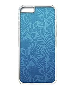 VUTTOO Iphone 6 Case, Green Leaves Pattern PC Hard Case for Apple iPhone 6 4.7 Inch Transparent