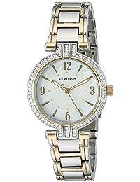 Women's 75/5377MPTT Swarovski Crystal Accented Two-Tone Bracelet Watch