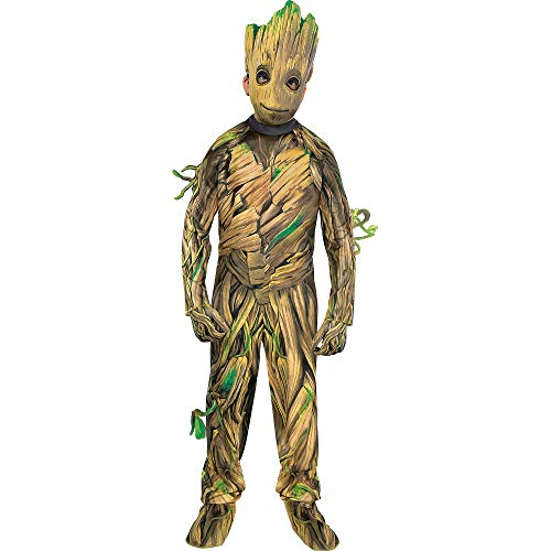 Suit Yourself Guardians of the Galaxy 2 Baby Groot Costume for Boys, Size Medium, Includes a Jumpsuit, a Mask, and -