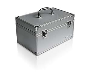 Raidsonic IB-AC626 - Caja para 9 discos duros, plateado