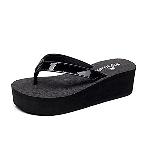 51fdfdba84c0 Ladies high-heeled sandals and slippers girl Po daily leisure all-match  tide cool