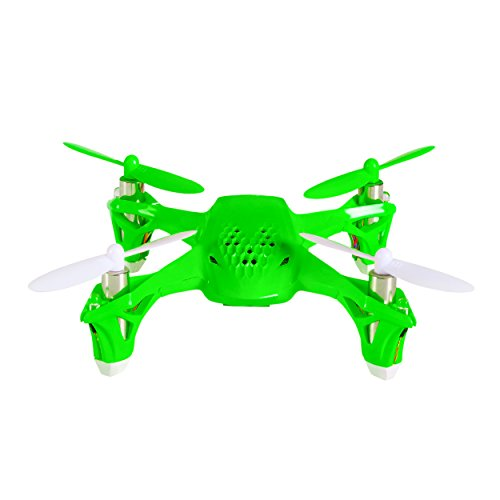 Tekstra Hubsan Spyder Micro Drone RC Quadcopter, Beginner Drone with Remote Controller, Electric Green