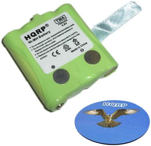 fits G-300 // G300 G-300M // G300M Two-Way Radio HQRP Rechargeable Battery Pack for Midland BATT4R Replacement HQRP Coaster