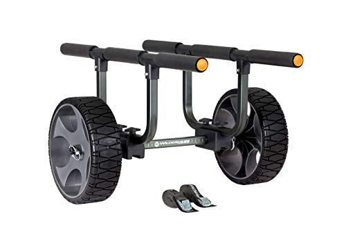 Wilderness Systems 8070121 Heavy Duty Kayak Cart – Flat-Free Wheels, Black