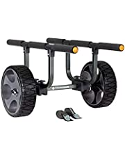 Wilderness Systems 8070121 Heavy Duty Kayak Cart - Flat-Free Wheels, Black