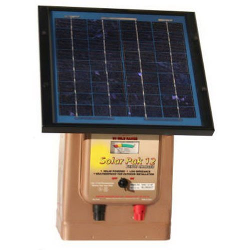 Parmak Magnum Solar-Pak 12 Low Impedance 12 Volt Battery Operated 30 Mile Range Electric Fence Charger MAG12-SP by Parmak (Image #1)