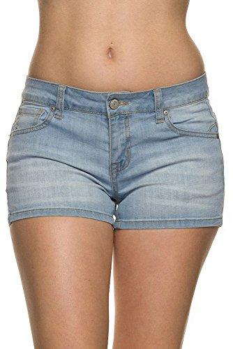 Basic 5 Pocket Denim Short - 6