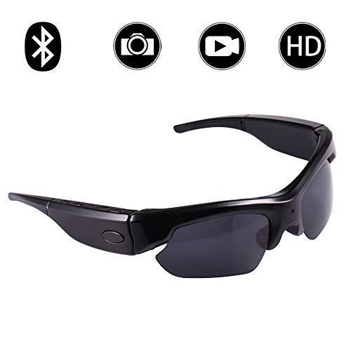 Hidden Spy Camera Sunglasses, Bysameyee 1080P Polarized Eyeglasses Mini Video Recorder Cam ()