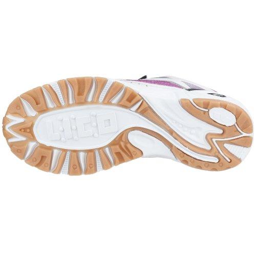 Lico Bob - Zapatillas de deporte de nailon para niña Blanco