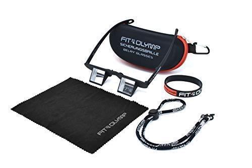 FIT4OLYMP fit4 Olymp Seguridad Gafas - La Ligero Gafas de Austria de Escalada: Amazon.es: Deportes y aire libre