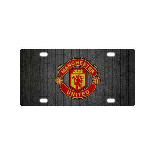 manchester united car tag - 2