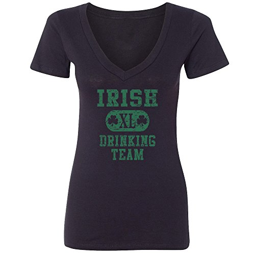 [Amazing Items Irish XL Drinking Team Costume For St. Patrick's Day Women's V-Neck Shirt, Large,] (Best Ideas For Halloween Costume 2016)