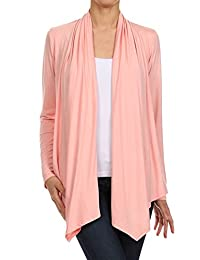 Women's Regular & Plus Size Open Front Cardigan