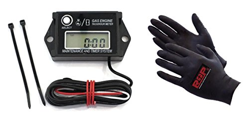 Digital Tachometer / Hour Meter for 2 & 4 Stroke Spark Small Gas Engine Motor
