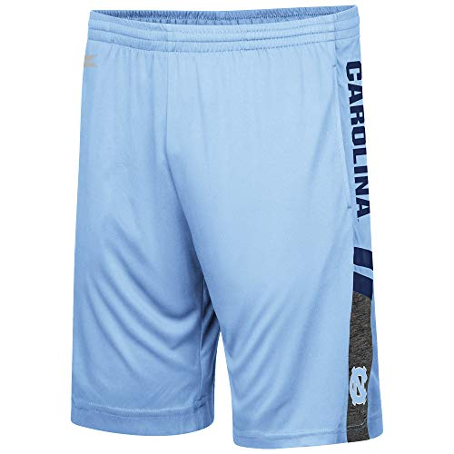 UNC Tarheels Carolina Blue Polyester Perfect Season Training Shorts (Medium)