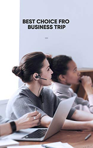 Bluetooth Headset, COUMI Wireless Bluetooth Earpiece, Bluetooth 5.0 Hands-Free Earphones with Noise Cancellation Mic for/Business/Office/Driving, Compatible with Android