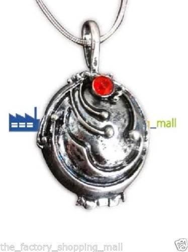 Inspired by the Vampire Diaries Elena's Necklace Locket Pendant + BLUE VERVAIN / VERBANA AND JEWLERY BOX INCLUDED TFSM