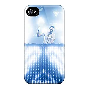 Bumper Hard Cell-phone Cases For Iphone 4/4s With Unique Design Fashion Tiesto Pattern AnnaDubois