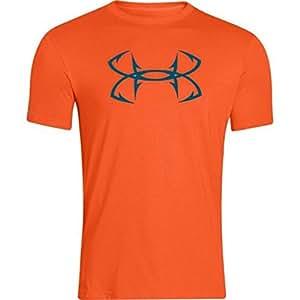 Under Armour Mens Hook Logo Short Sleeve Shirt (Medium, HIP/SAL)