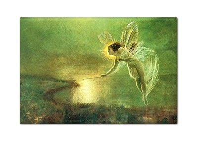 Spirit of the Night Fairy by Grimshaw Fridge Magnet