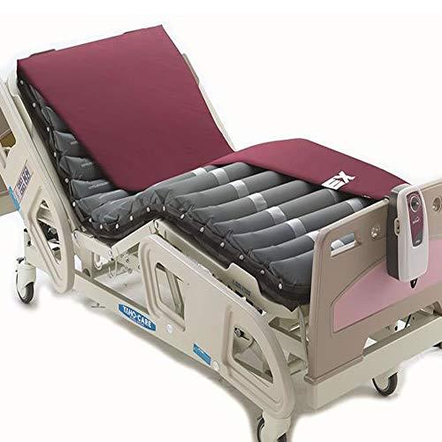 41z6fqFTgKL. SS500 RECOMENDADO PARA pacientes con riesgo medio de aparición de úlceras por presión y para pacientes con UPPs de grado II COLCHÓN ANTIESCARAS: con 18 celdas individuales con presión alternante COMPRESOR: para hinchado rápido del colchón y con alarma en caso de baja presión del colchón