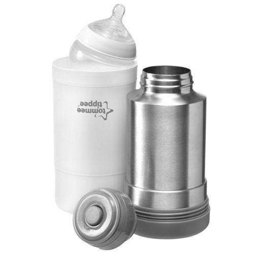 Tommee Tippee Closer to Nature Travel Baby Bottle Warmer Hot Flask Steel Best Seller Good Quality Fast Shipping by