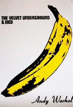 Andy Warhol Banana Velvet Underground Rock Music Art Poster