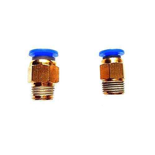 MASUNN Connecteur Pneumatique En Laiton De 1,75 Mm/3Mm Joint Rapide Pour Imprimante 3D Extrudeuse À Distance J-Head - 3mm