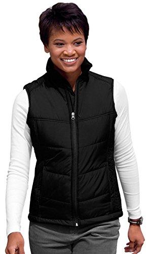 Port Authority Womens Vest (Port Authority Womens Puffy Vest (L709) -BLACK/BLAC -S)