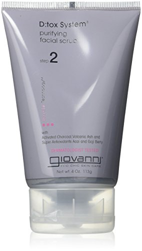 - Giovanni Facial Scrub Detox System, 4 Ounce - 2 per case.
