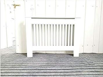 f/ácil de Montar dise/ño Chelsea MDF cm Armario Antipolvo H x78 W Color Blanco Estante de Listones Madera Mueble Moderno para el hogar 82 x19 Blanco D Hedii Cubiertas para radiador