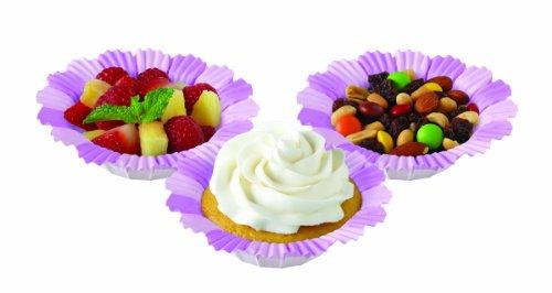 (Wilton 415-0179 Blossoms Baking Cup, Lavender)