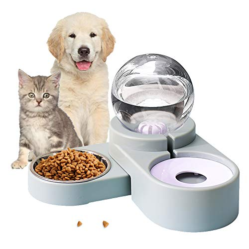 Lucky-M Automatic pet Feeder (Blue)