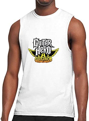 タンクトップ メンズ Guitar Hero ギターヒーロー ノースリーブ Tシャツ 吸汗通気 フィットネス カジュアル インナーベスト スポーツ